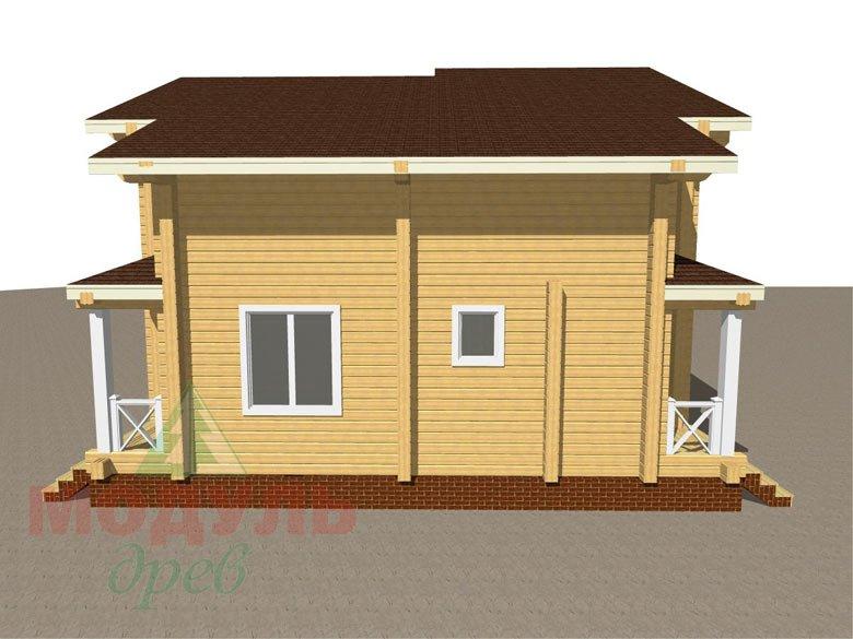 Дом из бруса «Ростов» - макет 4