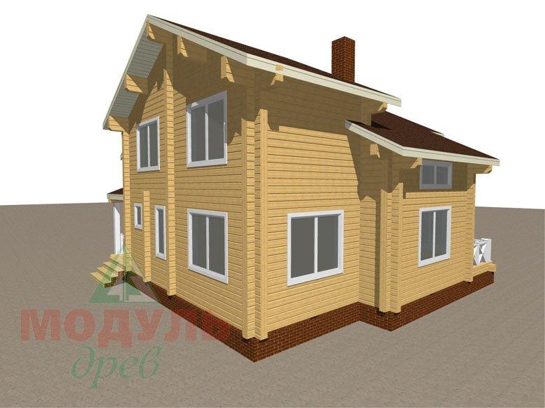 Дом из бруса «Ростов» - макет 7