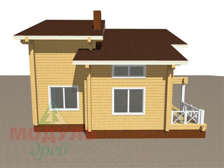 Дом из бруса «Ростов» - макет 8
