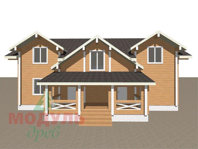 Дом из бруса «Совполье» - макет 5