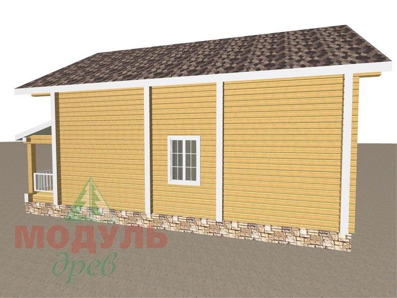 Дом из бруса «Стародуб» - макет 4
