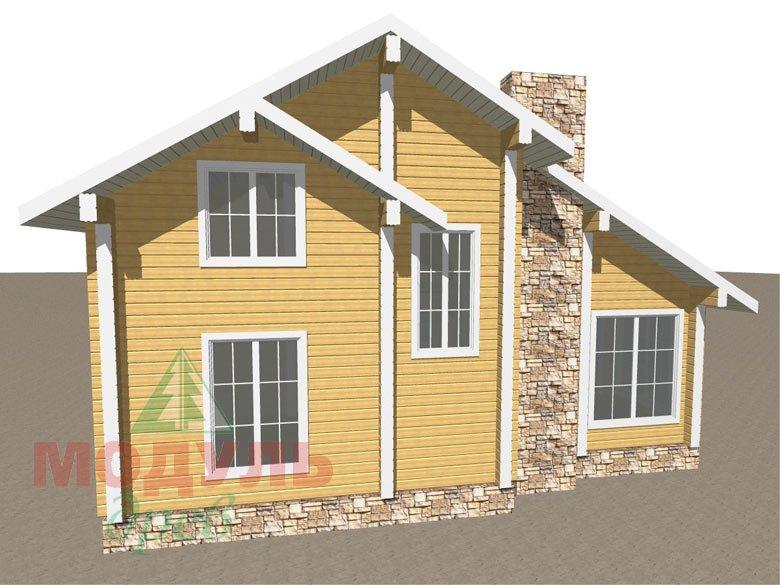 Дом из бруса «Стародуб» - макет 5