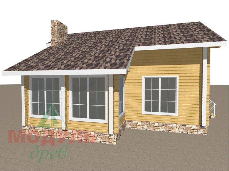 Дом из бруса «Стародуб» - макет 7