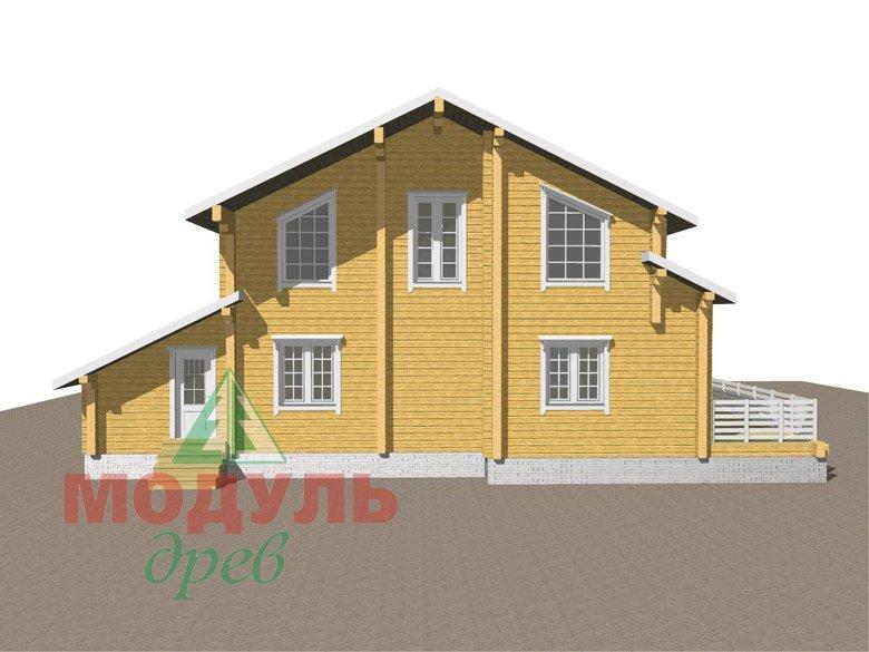 Дом из бруса «Судиславль» - макет 5