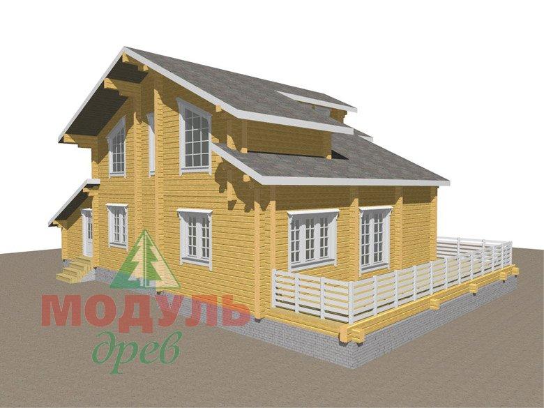 Дом из бруса «Судиславль» - макет 6