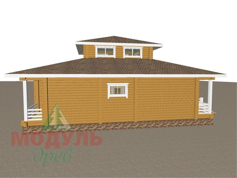 Дом из бруса «Улан-Удэ» - макет 6