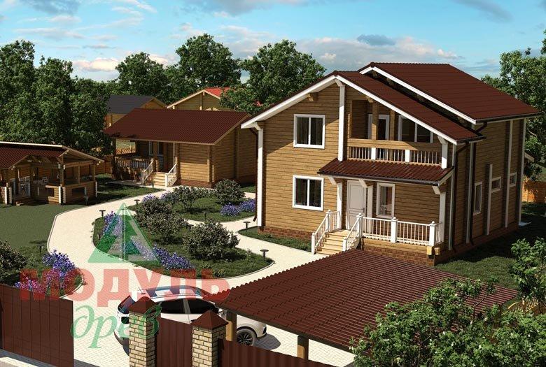 Проект дома «Виктория» -макет 8