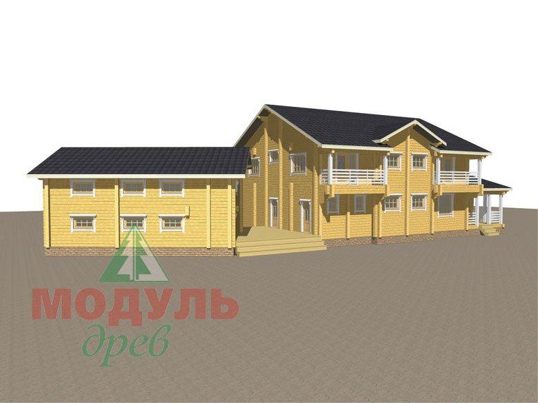 Проект дома из бруса «Волгоград» - макет 5