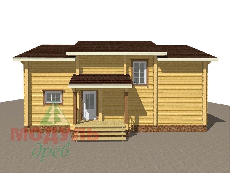 Дом из бруса «Вологда» - макет 5