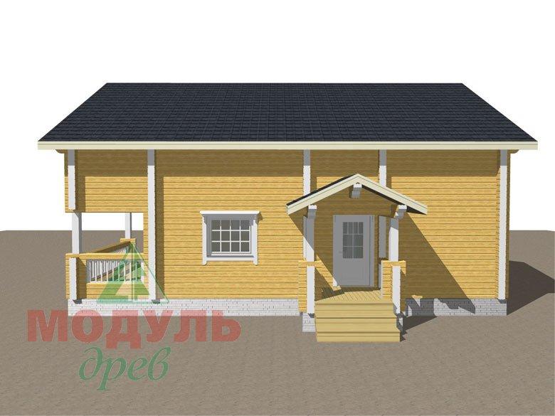 Дом из бруса «Вятка» - макет 8