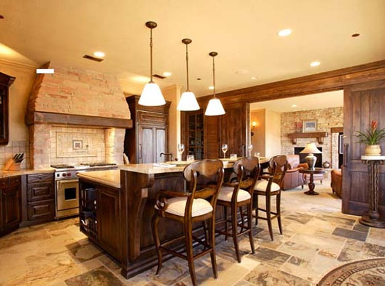 Фото интерьеров кухонных помещений