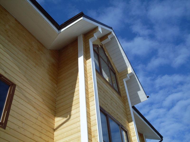 Фото деревянного дома из бруса «Мирный»